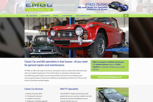 WordPress Website Designs Uckfield
