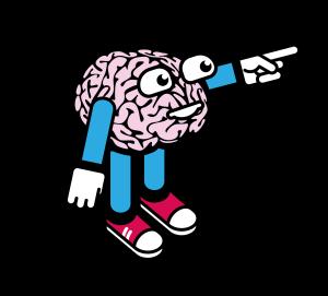 Mr Brains Cartoon