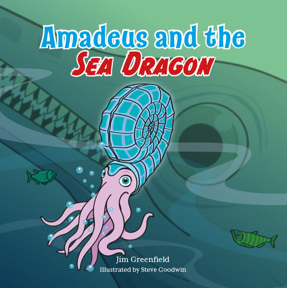 Amadeus and the Sea Dragon children's book