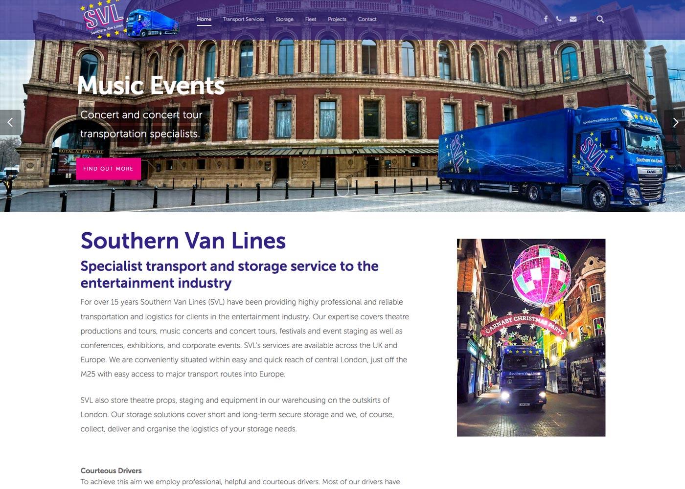 Wordpress website for Kent business