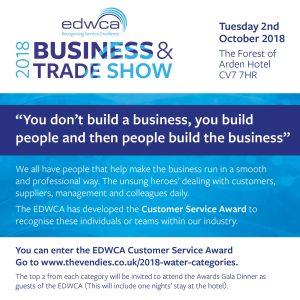 EDWCA trade show graphic
