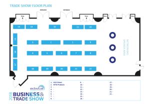 PowerPoint tradeshow floor plan