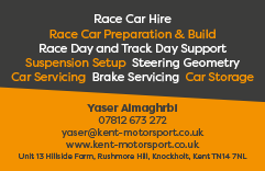 Kent Motorsport Business Card