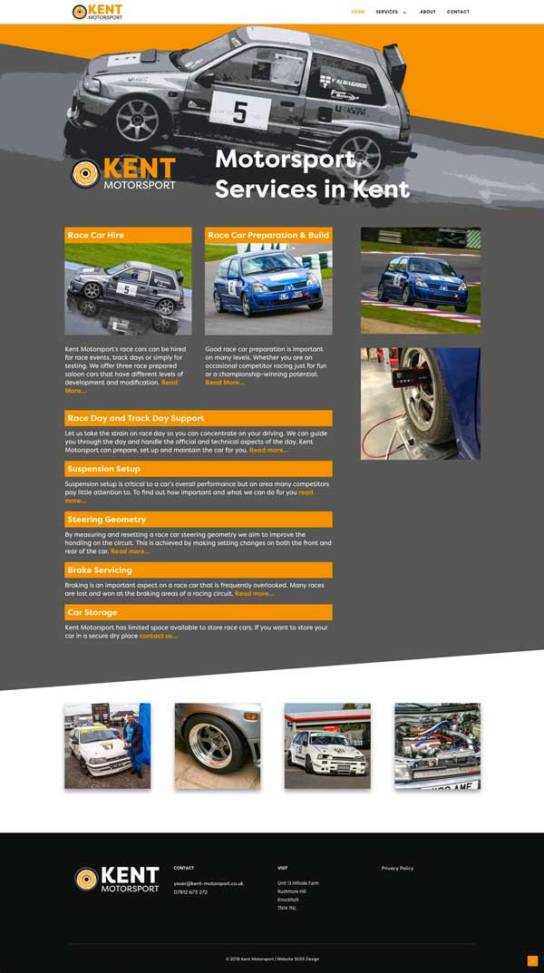 Kent Motorsport Website