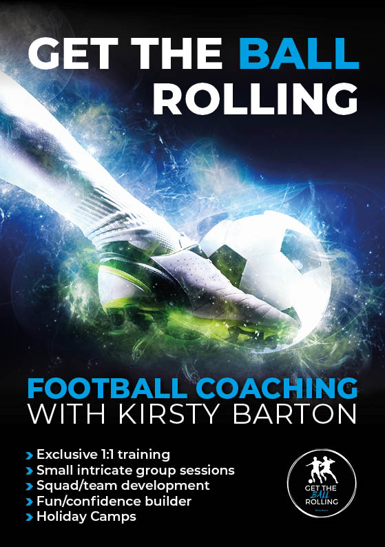 A5 flyer design for Kirsty Barton